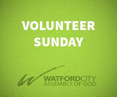 Volunteer Sunday
